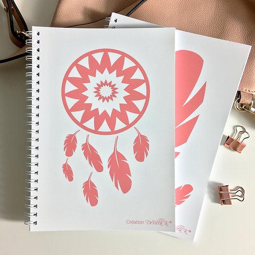 Coffret de 2 cahiers A5 - Indien d'Amérique
