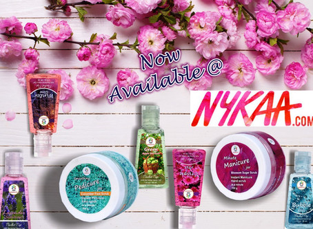 BLOOMSBERRY NOW ON NYKAA!!