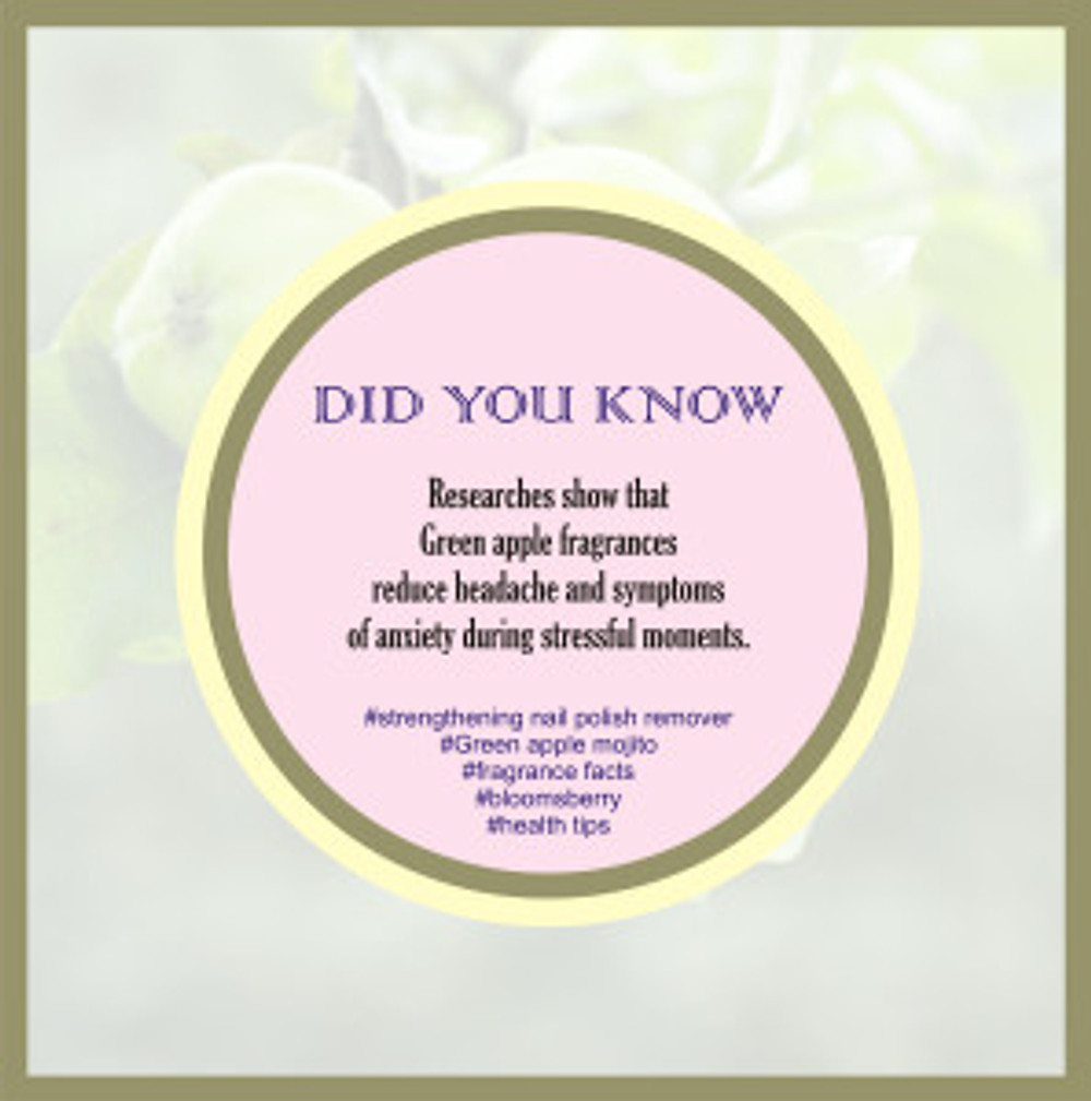 BENEFITS OF GREEN APPLE FRAGRANCE