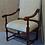 "Thumbnail: ""Комиссионный мебели Винтаж"" стул   -Tudor Oak Wycombe Early English Carver"