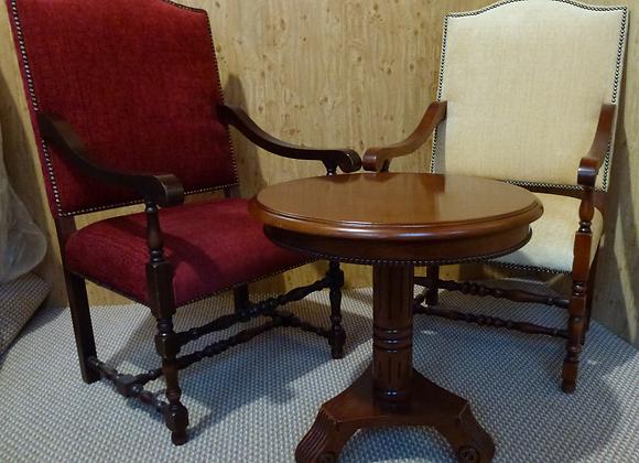 """Комиссионный мебели Винтаж"" стул   -Tudor Oak Wycombe Early English Carver"