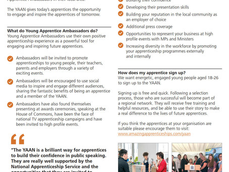 National Apprenticeship Service and Amazing Apprenticeships Guides + Factsheets