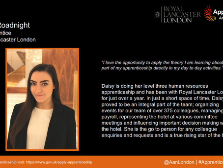 Apprentice Snapshot: Daisy Roadnight