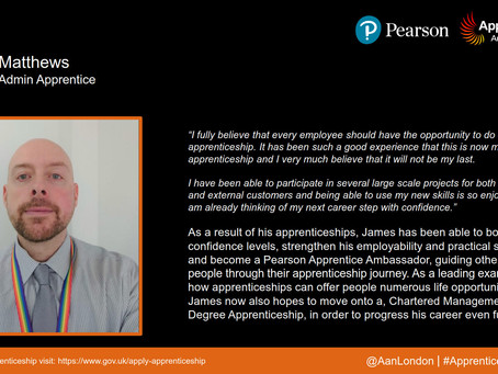 Apprentice Snapshot: James Matthews