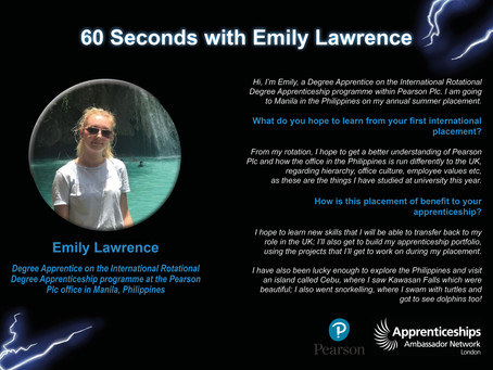 60 Seconds with Emily Lawrence