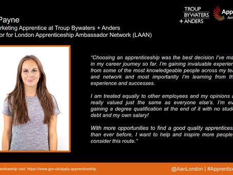 Apprentice Snapshot: Grace Payne