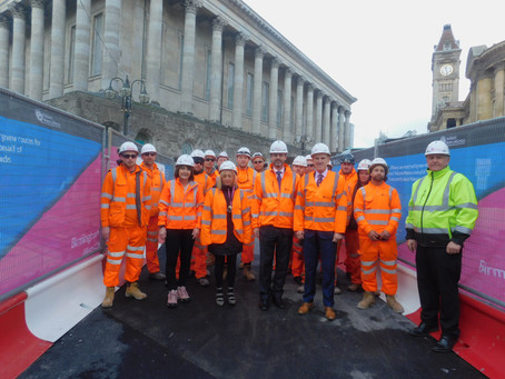 Tramway Construction Operative Apprenticeship Launch