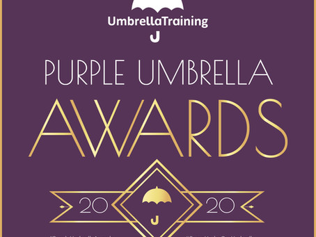 LAAN are Supporting Sponsors for the Purple Umbrella Awards 2020