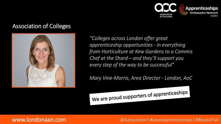 Mary Vine-Morris #LoveApprenticeships.jp