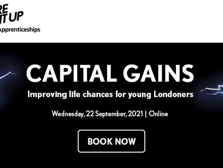 Capital Gains - Improving Life Chances for Young Londoners - Register Now!