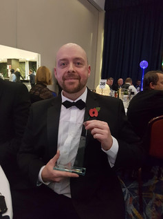 Pearson apprentice, James Matthews wins at the UK National Contact Centre Forum 2018 Awards
