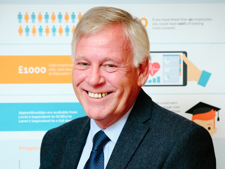 Neil Weller, Chairman of the London Apprenticeship Ambassador Network is awarded an MBE