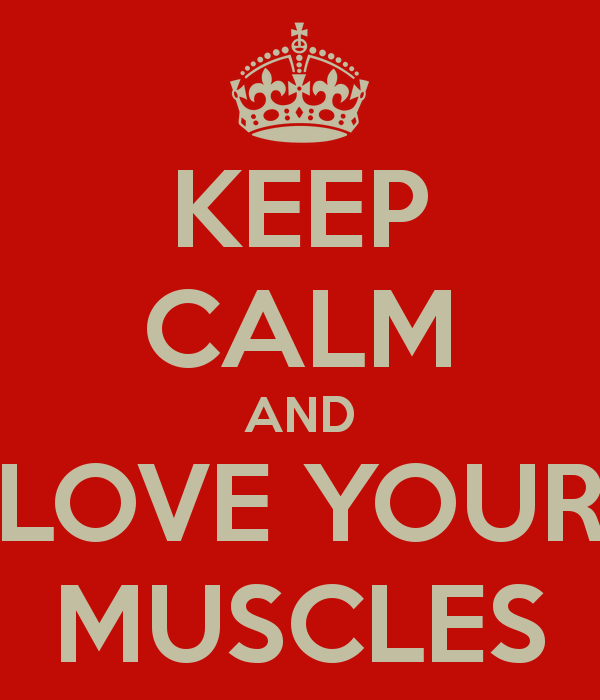 I love muscles