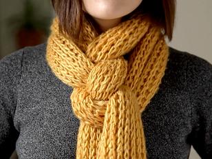 Comment nouer un foulard et une écharpe ?