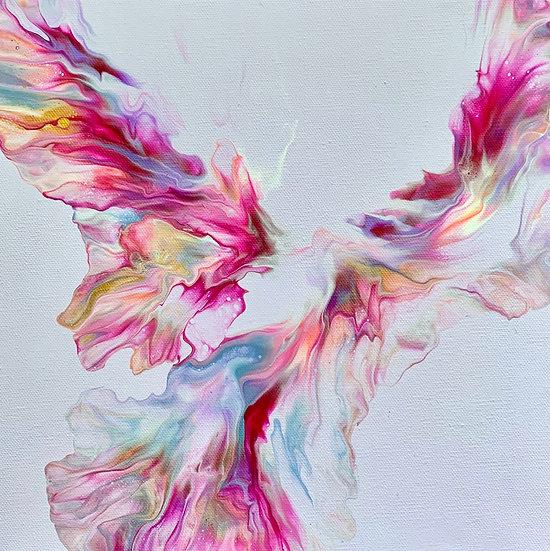 SOLD - Purple Wings