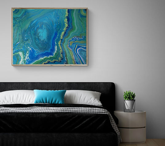 Comfy_minimalist_bedroom_with_pot_plant