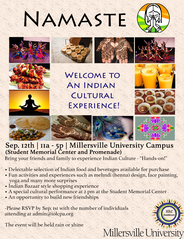 Namaste Cultural Event Flyer