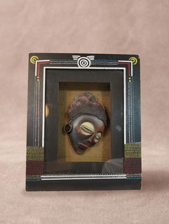 African Mask in Shadowbox