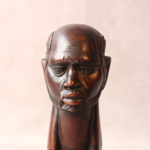 Bust of African Man