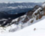 Avoid the resorts and riding fresh powder snow.