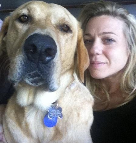 Candace and Labrador Retreiver