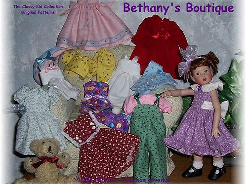PDF - Kish Bethany's Boutique Doll Pattern Set