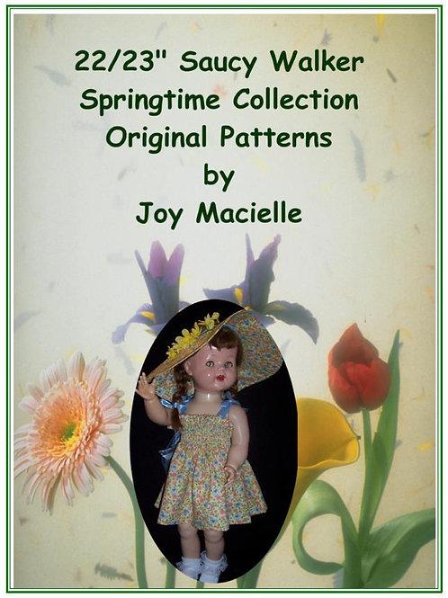 "PDF - 22"" Saucy Springtime Collection Patterns"