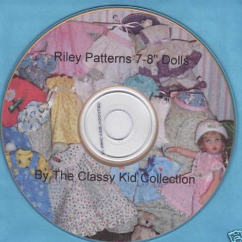 "8"" Riley Patterns on CD"