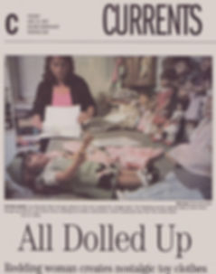 Article published in 2007 regarding original doll pattern desigs