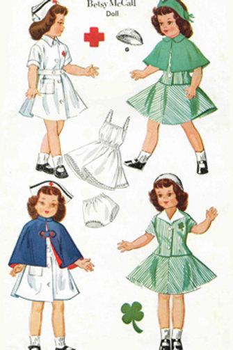 """14"""" Betsy McCall Pattern Set"""