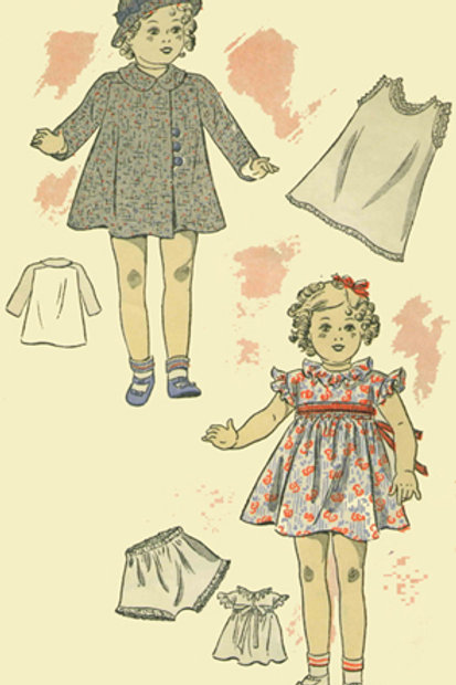 "24"" Shirley Temple Pattern Set"