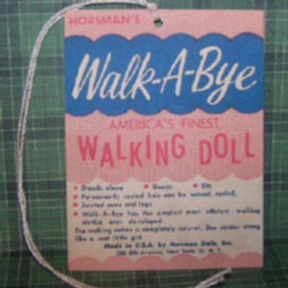 Walk-a-Bye Walking Doll