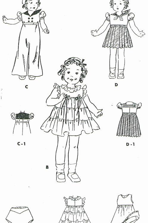 "14"" Doll Pattern"