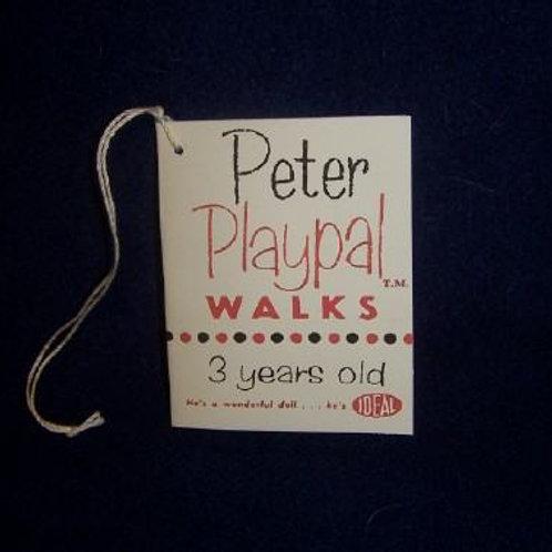 Peter Playpal Walks