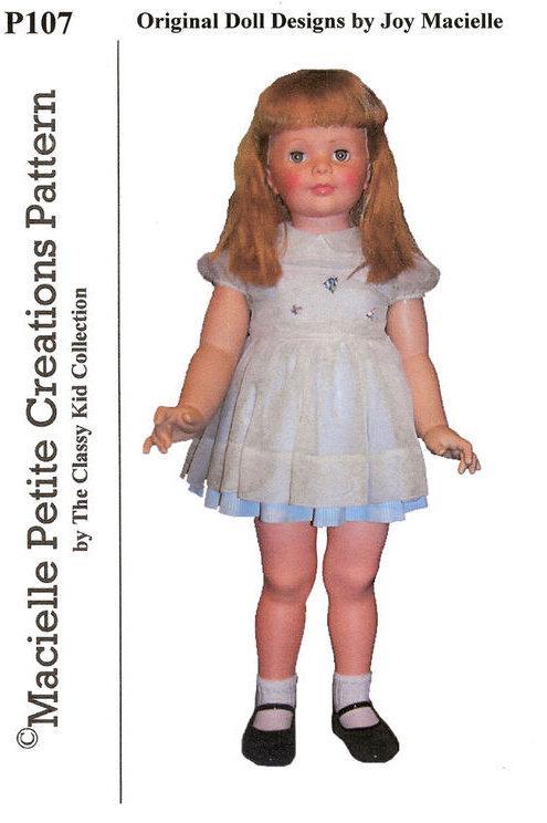 PDF P107 - Dress & Pinafore Patty Playpal