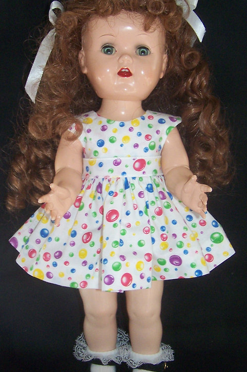 "Bubbles Dress for 16"" Terri Lee or 16"" Saucy Walker"