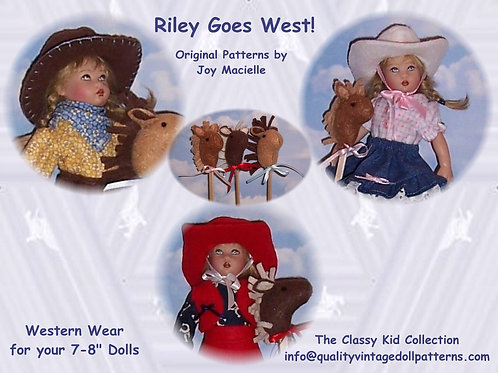 PDF - Kish Riley Goes West Doll Patterns