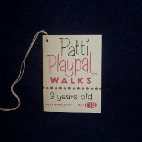 Patti Playpal Walks