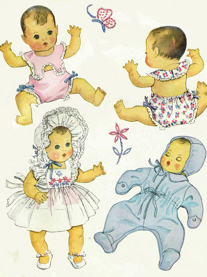 "11"" Baby Doll Pattern Set"