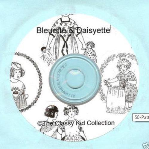"11"" Bleuette/Daiseyette Doll Patterns on CD"