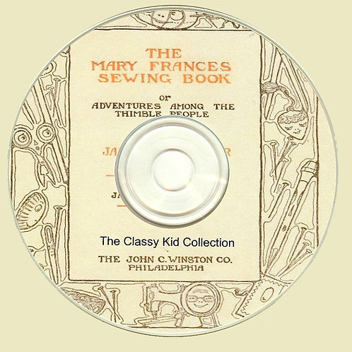 Mary Frances Sewing Book on CD