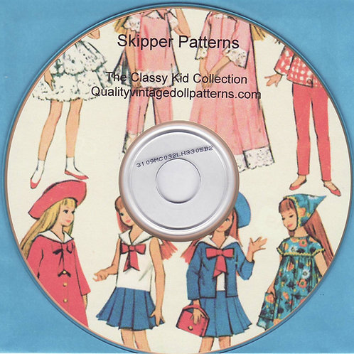 Skipper Patterns on CD