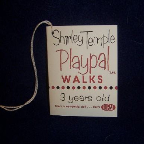 Shirley Temple Playpal Walks