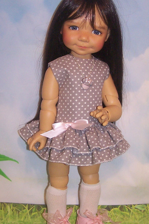 "Dress for 18"" Meadow Dolls"
