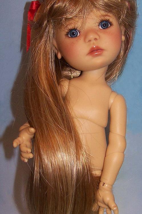"""#140 Wig for 11"""" Dumpling Dolls"""
