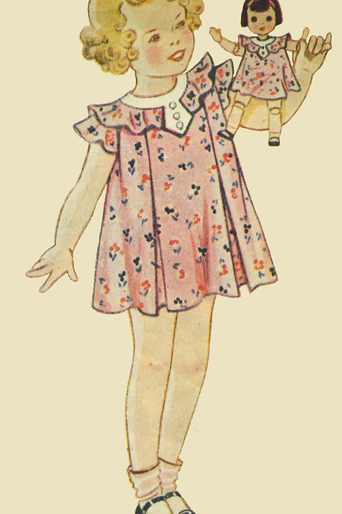 "18"" Antique Doll Pattern Set"