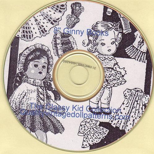 Ginny Doll Patterns on CD