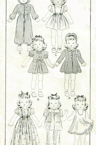 "16"" Shirley Temple Pattern Set"