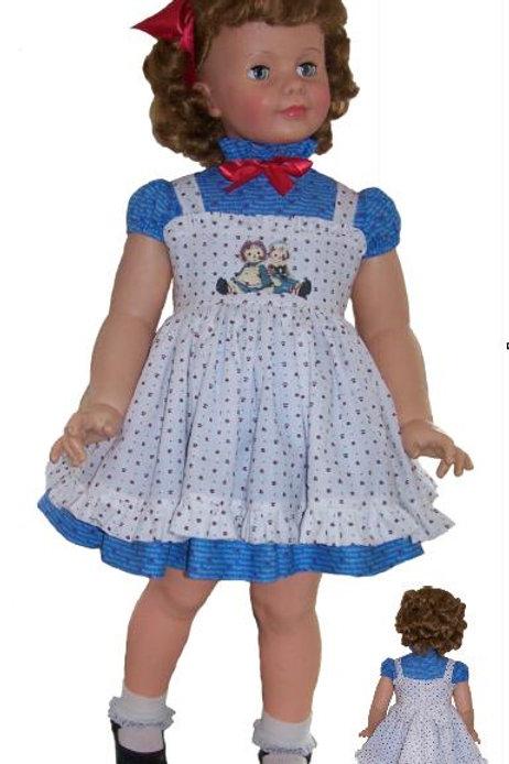 P116 Raggedy Ann Outfit Pattern