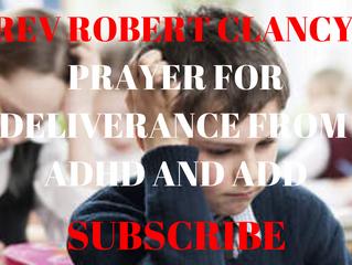 PRAYER FOR DELIVERANCE FROM ADHD AND ADD (ARABIC TRANSLATION) صلاة من أجل الخلاص من اضطراب نقص الانت